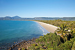 View of Four Mile Beach from Flagstaff Hill.  Port Douglas, Queensland, Australia