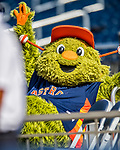 1 March 2017: Houston Astros Mascot Orbit relaxes in the stands during a Spring Training game against the Miami Marlins at the Ballpark of the Palm Beaches in West Palm Beach, Florida. The Marlins defeated the Astros 9-5 in Grapefruit League play. Mandatory Credit: Ed Wolfstein Photo *** RAW (NEF) Image File Available ***