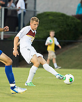 Winthrop University Eagles vs the Brevard College Tornados at Eagle's Field in Rock Hill, SC.  The Eagles beat the Tornados 6-0.  Max Hasenstab (18)