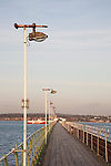 Pier at Hythe in Southampton; England, UK;