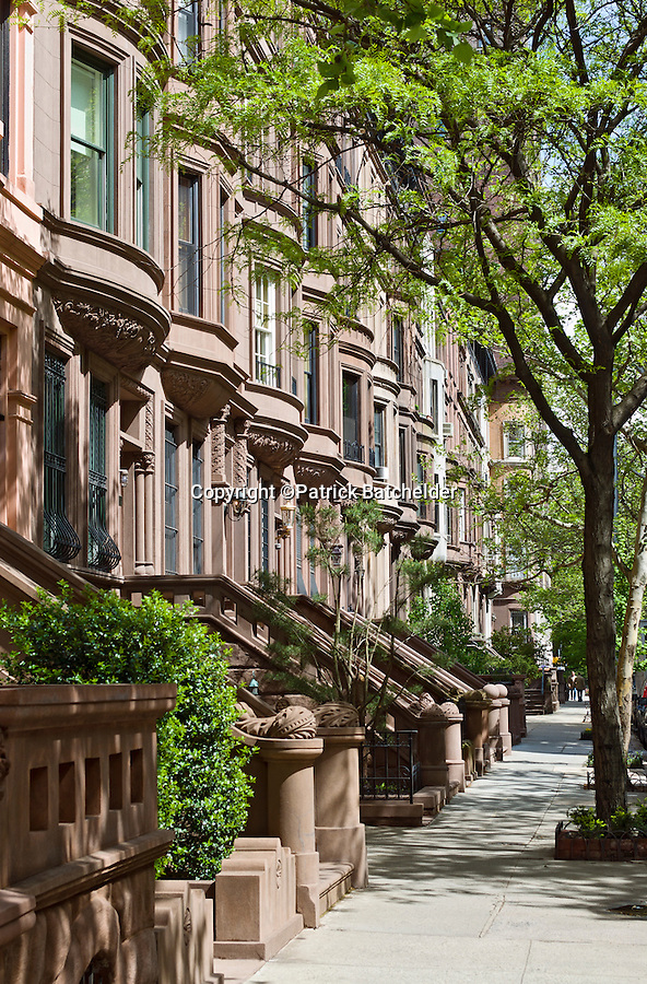 Brownstone buildings manhattan photography of new york for Beautiful apartments in nyc