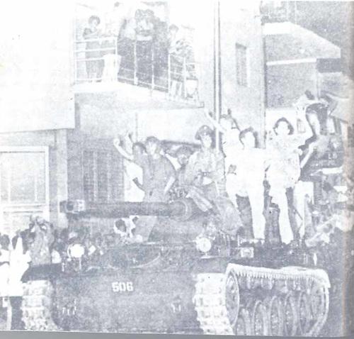 El pueblo dominicano harto de tantos años de dictadura queria libertad