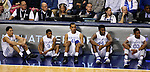 From left to right, Devin Booker, Tyler Ulis, Trey Lyles, Dakari Johnson and Marcus Lee wait to go into the game during the first half of the University of Kentucky vs. Grand Canyon University men's basketball game at Rupp Arena in Lexington, Ky., on Friday, November 14, 2014. UK won 85-45. Photo by Tessa Lighty | Staff