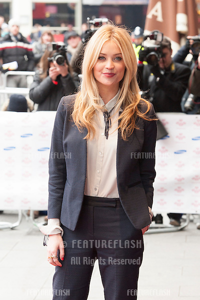 Laura Whitmore arriving for the The Prince's Trust Celebrate Success Awards 2013 at the Odeon Leicester Square, London. 26/03/2013 Picture by: Simon Burchell / Featureflash