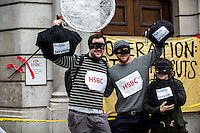 "21.03.2015 - UK Uncut: ""The Great British Tax Robbery: Citizens Arrest"""