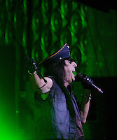 Alice Cooper performing at The Palais, Melbourne, 28 August 2009