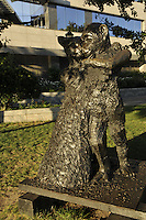 Jim Dine, Ape & Cat (at the Dance), Robert F. Wagner Jr. Park, Museum of Jewish Heritage, Memorial to the Holocaust, designed by Roche Dinkeloo, Post- Modernism, Lower Manhattan, New York, New York
