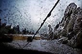 Czatachowa 01.2010 Poland<br /> Broken high-voltage line.<br /> Three atmospheric forces: rain, snow and frost have changed into an ecological disaster the Myszkowski district in the Czestochowskie province, located 230 kilometers south of Warsaw. Almost 95% of all trees are down.Thousands of homes are left without electricity.<br /> Photo: Adam Lach / Napo Images for Newsweek Polska<br /> <br /> Zerwana linia wysokiego napiecia.<br /> Wstepnie &quot;tylko&quot; 95% scietych drzew w dwoch powiatach. 0.5 miliona metrow szesciennych zniszczonych lasow..Tysiace gospodarstw bez pradu. Wszyscy maja swiadomosc, ze na kumulacje trzech niekorzystnych .zjawisk atmosferycznych rady nie ma.Trzy zjawiska kt&oacute;re zamienily jeden z obszarow Polski w istna katastrofe ekologiczna: deszcz, snieg i szadz.<br /> Fot: Adam Lach / Napo Images dla Newsweek Polska