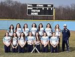3-23-16, Skyline High School varsity softball team