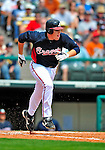 12 March 2009: Atlanta Braves' infielder Freddie Freeman in action during a Spring Training game against the Washington Nationals at Disney's Wide World of Sports in Orlando, Florida. The Braves defeated the Nationals 6-2 in the Grapefruit League matchup. Mandatory Photo Credit: Ed Wolfstein Photo