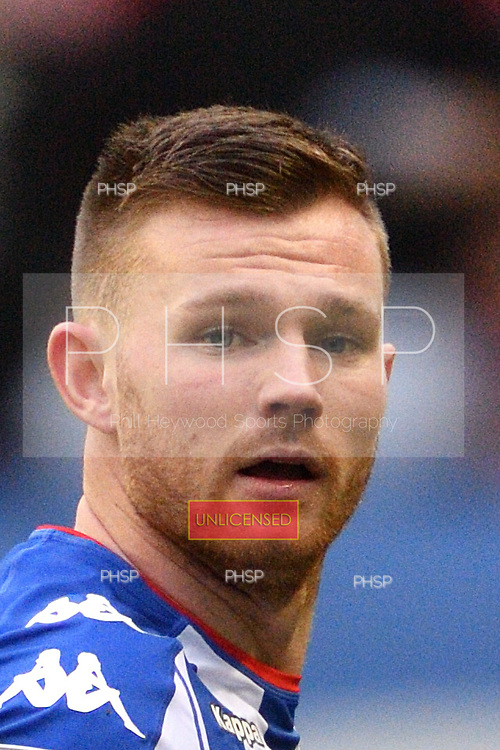 25/02/2017 Sky Bet Championship Wigan Athletic v Nottingham Forest<br /> <br /> Ryan Tunnicliffe, Wigan Athletic FC