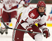 Kyle Criscuolo (Harvard - 11) - The visiting University of Massachusetts Lowell River Hawks defeated the Harvard University Crimson 5-0 on Monday, December 10, 2012, at Bright Hockey Center in Cambridge, Massachusetts.