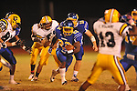 Oxford High's Mont Dean (22) runs vs. Hernando in Oxford, Miss. on Friday, October 14, 2011. Hernando won 31-30 in overtime.