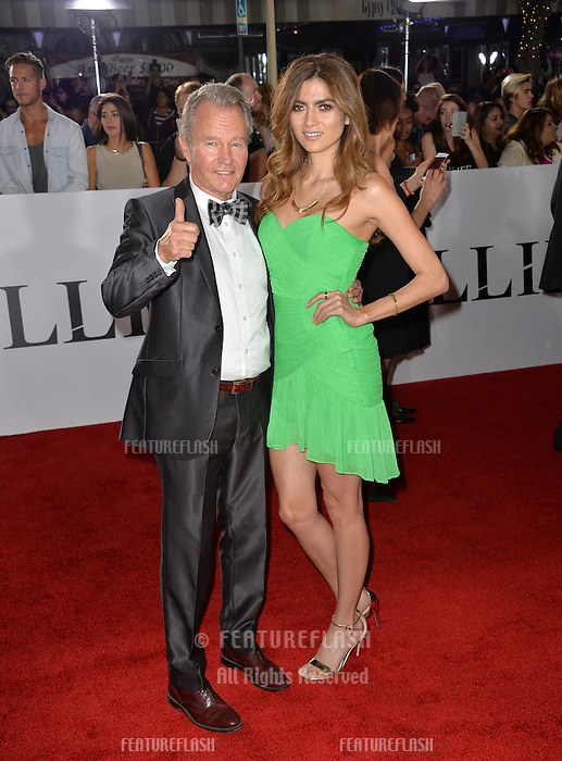 LOS ANGELES, CA. November 9, 2016: Actress Blanca Blanco &amp; actress John Savage at a special fan screening for &quot;Allied&quot; at the Regency Village Theatre, Westwood.<br /> Picture: Paul Smith/Featureflash/SilverHub 0208 004 5359/ 07711 972644 Editors@silverhubmedia.com