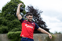 Jeff Williams of Bath Rugby in action during a Bath Rugby photoshoot on June 21, 2016 at Farleigh House in Bath, England. Photo by: Rogan Thomson for Onside Images