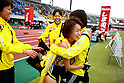 Yoshimi Ozaki and team group (Dai-Ichi Life), NOVEMBER 3, 2011 - Ekiden : East Japan Industrial Women's Ekiden Race at Saitama, Japan. (Photo by Toshihiro Kitagawa/AFLO)