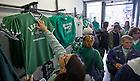 Aug. 31, 2012; Notre Dame fans shop for souvenirs at a shop on Grafton Street in Dublin...Photo by Matt Cashore/University of Notre Dame