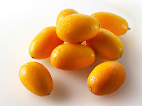 Fresh Kumquats citrus fruit