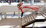 The Traditional Chinese Lion Dance during the International Festival held at the Overture Center For The Arts, in Madison, Wisconsin.