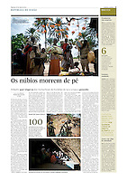 Tearsheet of &quot;Nuba Mountains&quot; (text and photos) published in Expresso