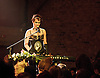 Amanda Palmer <br /> Performing live at The Village Underground, Shoreditch, London, Great Britain <br /> on 20th June 2012 <br /> <br /> with guest artists <br /> <br /> Neil Gaiman <br /> <br /> Andrew O'Neill<br /> <br /> <br /> Grand Theft Orchestra<br /> <br /> Jherek Bischoff<br /> <br /> Michael McQuilken <br /> <br /> Chad Raines<br /> <br /> Singer, songwriter, piano-slayer and blogger Amanda Palmer is preparing to release her first new studio album in four years, in conjunction with her new band, The Grand Theft Orchestra, featuring Michael McQuilken, Chad Raines and Jherek Bischoff. The album, recently recorded in Melbourne with producer John Congleton (St. Vincent, Murder By Death, Modest Mouse, Xiu Xiu), will also include a visual art exhibit featuring 30 visual artists who have created work inspired by the album. And true to form, the undisputed queen of fan engagement is turning to her fans for help, launching a new Kickstarter campaign that will enable her to execute the ambitious global release at levels rarely seen by independent artists.<br /> <br /> Photograph by Elliott Franks