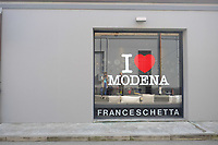 A view of the outside of Franceschetta 58, Modena. Franceschetta 58 is the second restaurant of Massimo Bottura, whose restaurant Osteria Francescana is the No 1 ranked restaurant in the 2016 The World's 50 Best Restaurants, and is rated with three stars by the Michelin Guide. Photo Sydney Low