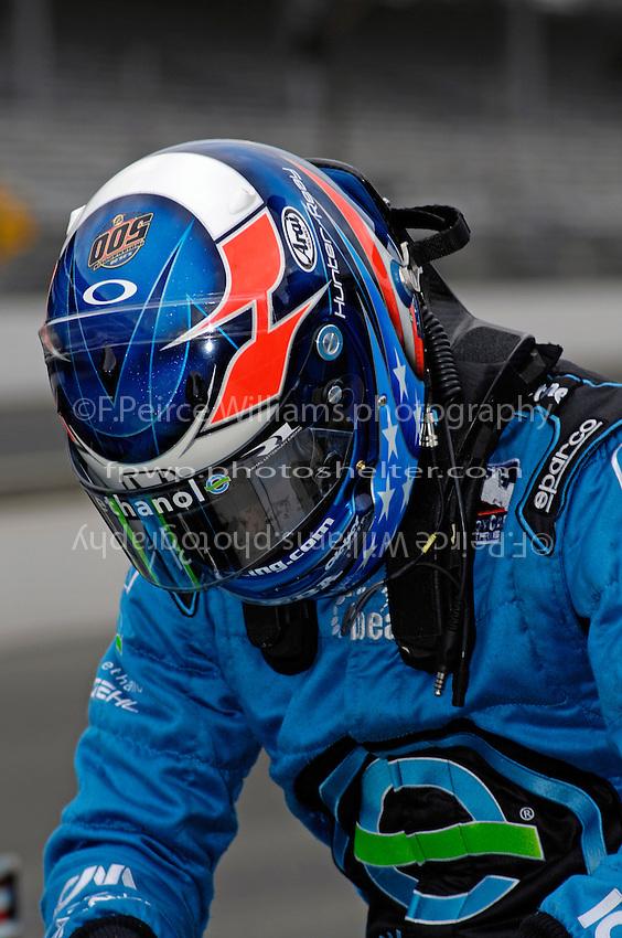 10-18 May 2008, Indianapolis,Indiana USA.Ryan Hunter-Reay (Rookie-Boca Raton,Florida USA).©2008 F.Peirce Williams USA.