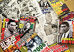 """Yakuza-related magazines and comics lie on the floor at the home of Jake Adelstein, a former reporter at Japan's largest daily newspaper, Yomiuri Shimbun, author of """"Tokyo Vice""""  at an undisclosed location in Japan on Aug. 29, 2008. In 2005 American Adelstein uncovered a scandal involving senior members of Japan's mafia, the yakuza, visiting a medical center in Los Angeles to undergo liver transplants, despite being bared from entry due to having criminal records or suspected affiliation with Japanese organized crime groups. Within days, however, Adelstein was visited by mob members and told to either """"erase the story or be erased."""" He took the former option and resigned from the Yomiuri, though a recent leak of his story has pushed Adelstein and his family into hiding..Photographer: Robert Gilhooly"""