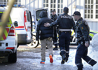 A man fired several shots on the grounds of Ullevaal hospital in Oslo. After some time the man was arrested. Photo:Fredrik Naumann/Felix Features<br />
