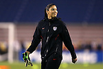 15 December 2012: Hope Solo (USA). The United States Women's National Team played the China Women's National Team at FAU Stadium in Boca Raton, Florida in a women's international friendly soccer match. The U.S. won the game 4-1.