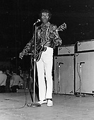 CHUCK BERRY LIVE, CIRCA OCTOBER 1971, MADISON SQUARE GARDEN, NEW YORK CITY, JEFFREY MAYER