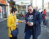 Caroline Pidgeon, Liberal Democrat Mayoral candidate campaigning with former Liberal Democrat Leader and Deputy Prime Minister Nick Clegg MP at Putney railway station, London, Great Britain <br /> <br /> 4th May 2016 <br /> <br /> <br /> <br /> <br /> Photograph by Elliott Franks <br /> Image licensed to Elliott Franks Photography Services