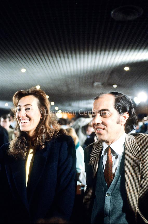 Letizia e Gianmarco Moratti a San Patrignano, 1985. © Leonardo Cendamo