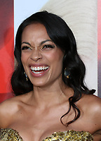 HOLLYWOOD, CA - APRIL 18: Rosario Dawson at the premiere of 'Unforgettable' at the TCL Chinese Theatre on April 18, 2017 in Hollywood, California. <br /> CAP/MPI/DE<br /> &copy;DE/MPI/Capital Pictures