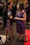 Randi and her mother Karen Zuckerberg at the UN Gala in New York, where she interviewed attendees live on Facebook....Photo by Robert Caplin.