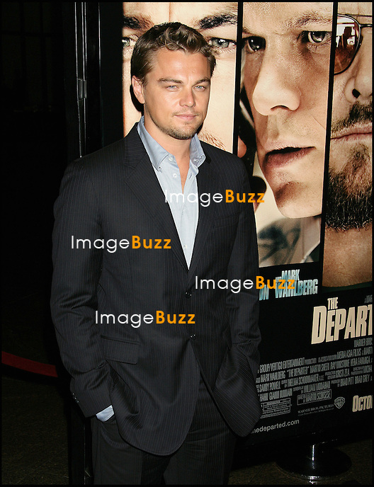 """LEONARDO DICAPRIO - PROJECTION DU FILM """"THE DEPARTED"""" A LOS ANGELES.."""" THE DEPARTED """" INDUSTRY SCREENING, AT THE DIRECTOR' S GUILD IN WEST HOLLYWOOD.  .LOS ANGELES, OCTOBER 5, 2006...Pic : Leonardo DiCaprio"""