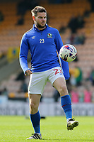 Blackburn Rovers' Danny Guthrie during the pre-match warm-up <br /> <br /> Photographer David Shipman/CameraSport<br /> <br /> The EFL Sky Bet Championship - Norwich City v Blackburn Rovers - Saturday 11th March 2017 - Carrow Road - Norwich<br /> <br /> World Copyright &copy; 2017 CameraSport. All rights reserved. 43 Linden Ave. Countesthorpe. Leicester. England. LE8 5PG - Tel: +44 (0) 116 277 4147 - admin@camerasport.com - www.camerasport.com
