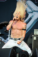 JUN 14 Twisted Sister  performing at Download Festival