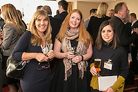 Pictured from left are Kimberley Davies-Phippen of Riverfall, Charelotte Moreland of Training for Business and Alessia Cacaveri of Shake Social
