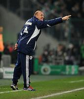 FUSSBALL   DFB POKAL   SAISON 2011/2012  ACHTELFINALE  Borussia Moenchengladbach - FC Schalke 04         21.12.2011 Seppo Eichkorn (Schalke)