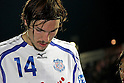 Mike Havenaar (Ventforet), DECEMBER 3, 2011 - Football / Soccer : Mike Havenaar of Ventforet Kofu is disappointed with his team's relegation after the 2011 J.League Division 1 match between Omiya Ardija 3-1 Ventforet Kofu at NACK5 Stadium Omiya in Saitama, Japan. (Photo by Hiroyuki Sato/AFLO)