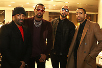 NEW YORK, NY - MARCH 8, 2015 DJ Clue, Fabolous, Swizz Beatz * Ryan Leslie at the Icon Talks Dinner for Fabolous  at Porsche Manhattan Mororcars, March 8, 2016 in New York City. Photo Credit: Walik Goshorn/Mediapunch