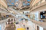 IFC shopping mall modern interior in Shanghai, China 2014