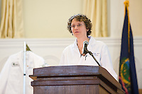 White Coat Ceremony, class of 2015. Beth Kirkpatrick, M.D.