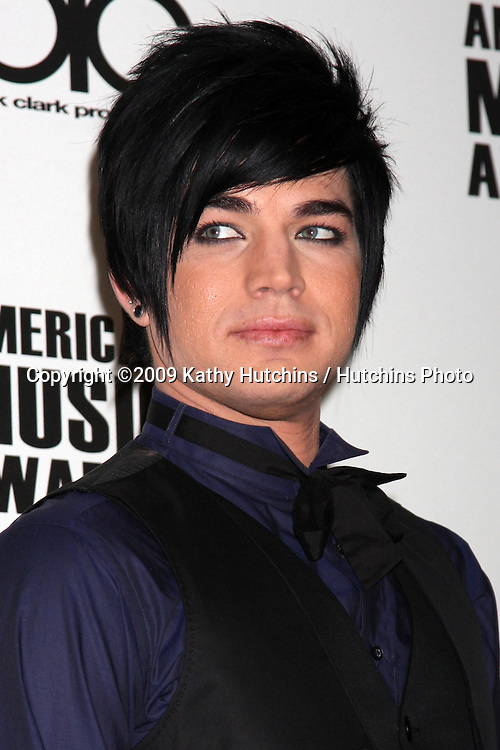 Adam Lambert.at the 2009 American Music Awards Nomination Press Conference.The Beverly Hills Hotel.Beverly Hills,  CA.October 13,  2009.©2009 Kathy Hutchins / Hutchins Photo.