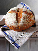 Artisan organic English Rye loaf