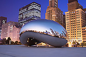 Cloud Gate, Chicago, Illinois, USA.