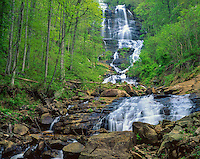 Amicalola Falls State Park, GA<br /> Amicalola Falls in early spring in the Chattahoochee National Forest