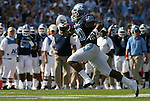 08 November 2008: North Carolina's Shaun Draughn (20). The University of North Carolina Tarheels defeated the Georgia Tech University Yellow Jackets 28-7 at Kenan Stadium in Chapel Hill, NC in an NCAA Division I and Atlantic Coast Conference football game.