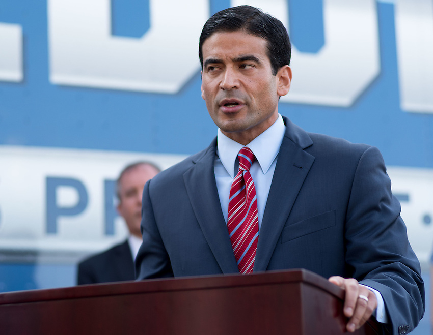"Bexar County District Attorney Nicholas ""Nico"" LaHood speaks during a press conference about combating human trafficking in Texas, Thursday, Sept. 1, 2016, at the San Antonio Police Department Public Safety Headquarters in San Antonio. (Darren Abate for the Texas Tribune)"